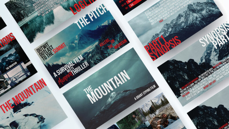 Mountain Pitch Deck Preview